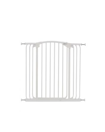 ZOE EXTRA-TALL & EXTRA-WIDE HALLWAY AUTO-CLOSE PET SECURITY GATE- WHITE